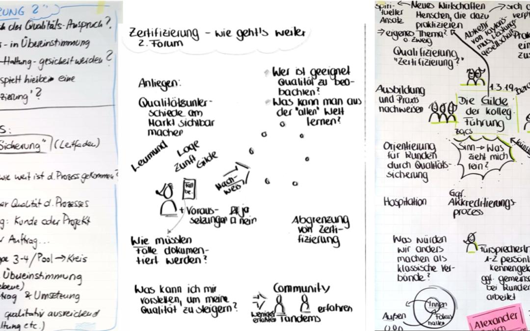 """Eine Idee reift zur """"Gilde Agile Organisationsentwicklung"""" e.V. [i.G.]"""